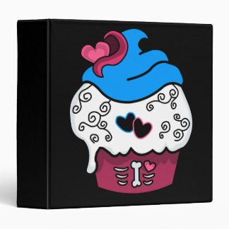 Zombie Heart Cupcake Binder