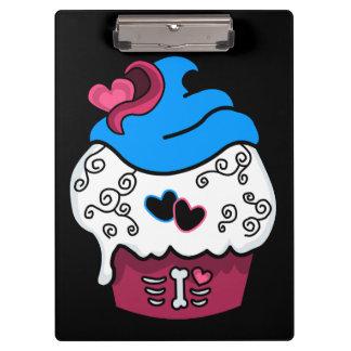Zombie Heart Cupcake Clipboard