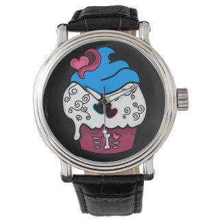 Zombie Heart Cupcake Wristwatch