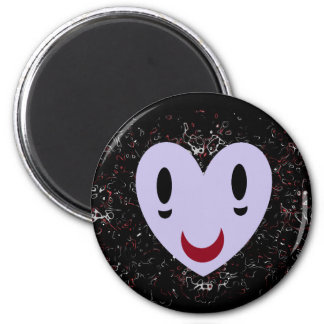 Zombie Heart 2 Inch Round Magnet
