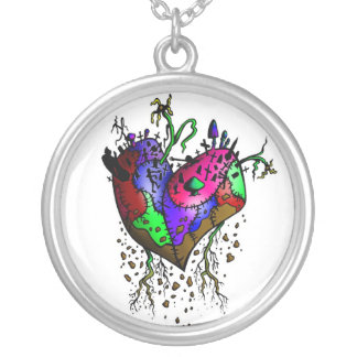 Zombie Heart Necklace