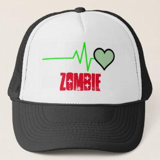 Zombie Heartbeat Trucker Hat