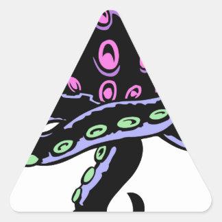 Zombie Hearticle Triangle Sticker