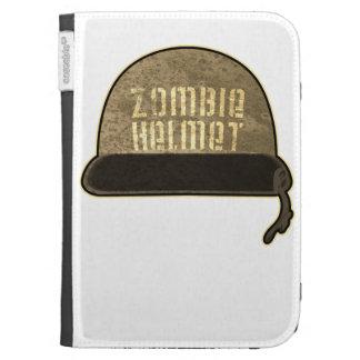 Zombie Helmet Kindle Case
