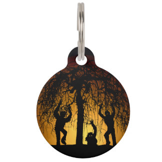 Zombie Hoard Pet Tag