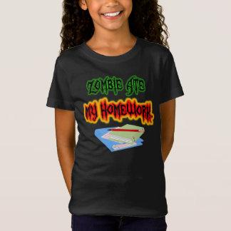 Zombie Homework  Girls' Bella Jersey T-Shirt