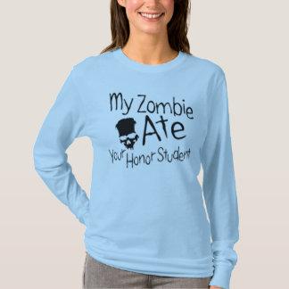 Zombie honor student shirt