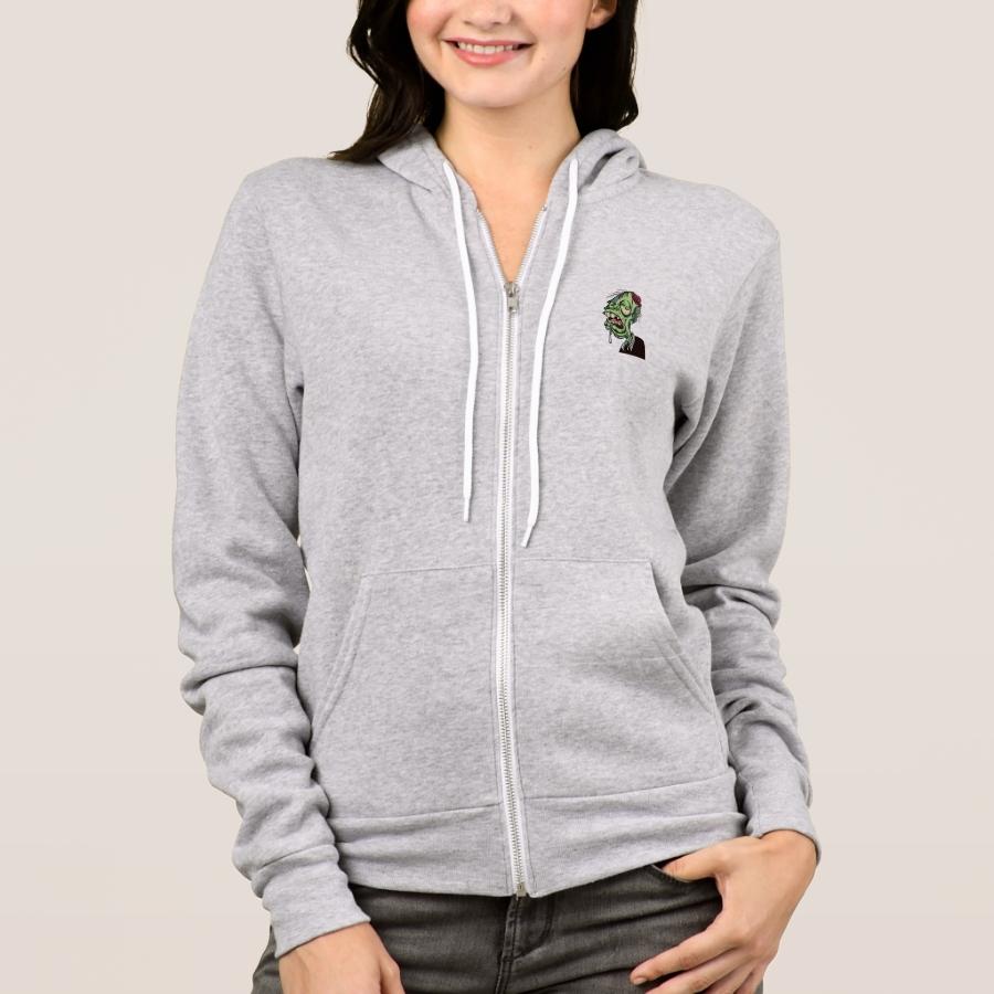 Zombie Hoodie - Creative Long-Sleeve Fashion Shirt Designs