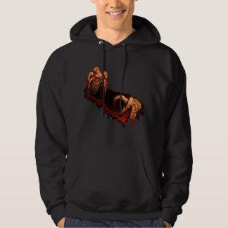 Zombie Hoodie Horror Zombie Hooded Sweatshirt