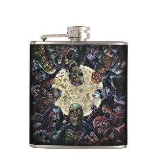 Zombie horde attack flasks