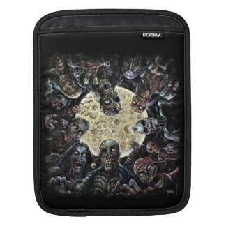 Zombie horde attack sleeves for iPads