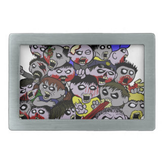 Zombie Horde Belt Buckle