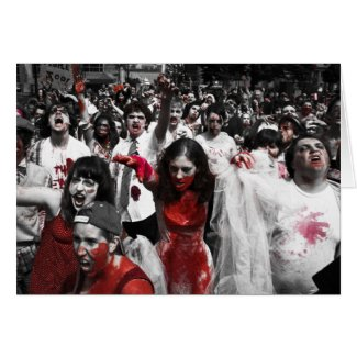 Zombie Horde Card card