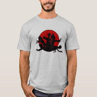 Zombie Horde Silhouette T-Shirt