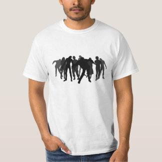 Zombie horde tee shirt