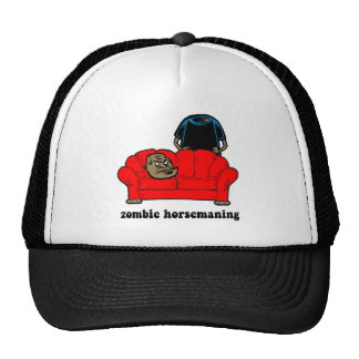 zombie horsemaning hats