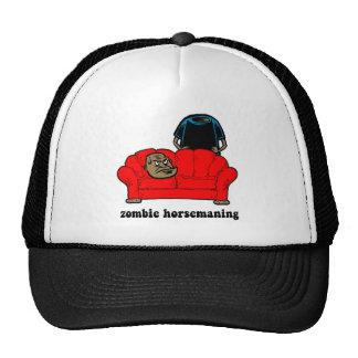 zombie horsemaning trucker hat