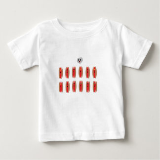 Zombie Hot Dogs Baby T-Shirt