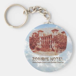 Zombie Hotel - Basic Basic Round Button Keychain