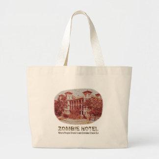 Zombie Hotel - Basic Jumbo Tote Bag