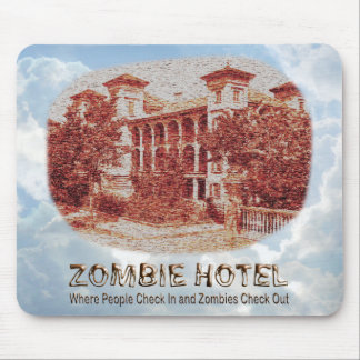 Zombie Hotel - Basic Mouse Pad