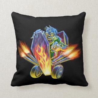 Zombie Hotrod Pillow