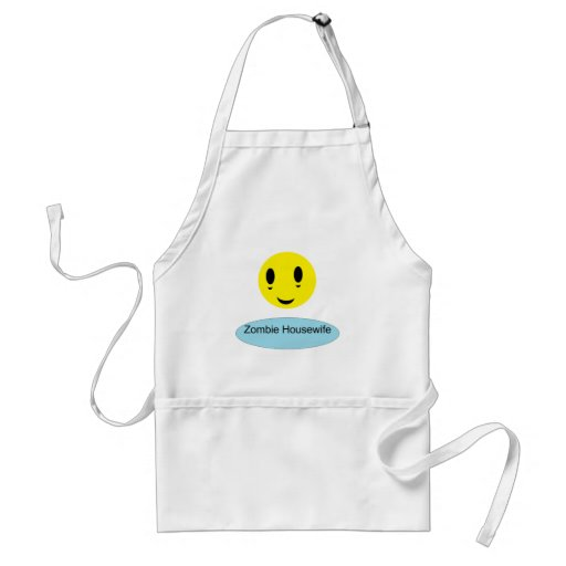 Zombie Housewife Adult Apron