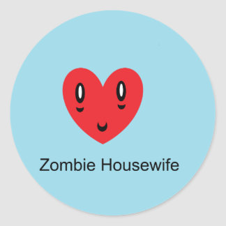 Zombie Housewife Stickers