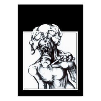 Zombie Hunger Large Business Card