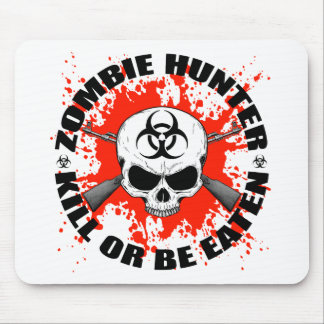 Zombie Hunter 1 Mouse Pad