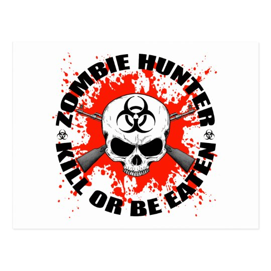 Zombie Hunter 1 Postcard