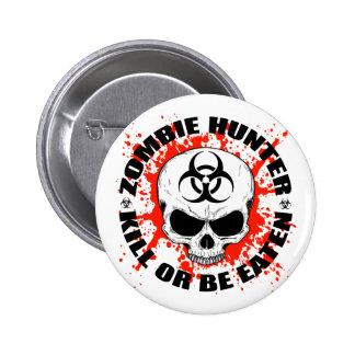Zombie Hunter 3 Pinback Buttons