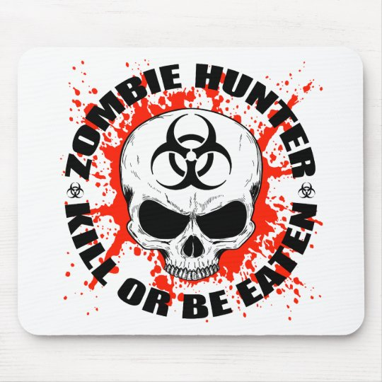 Zombie Hunter 3 Mouse Pad