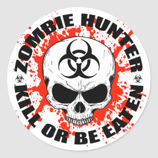 Zombie Hunter 3 Stickers