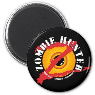 Zombie Hunter Badge Magnet