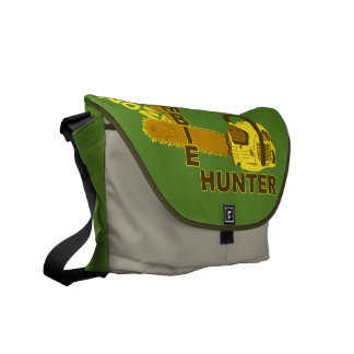 Zombie Hunter Bag (green background) Commuter Bags
