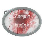 Zombie hunter  belt buckle