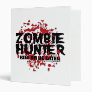 Zombie Hunter Binder