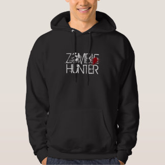 ZOMBIE HUNTER blood splat hoodie