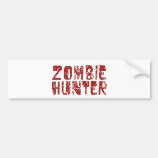 zombie hunter bumper stickers