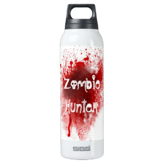 Zombie hunter By Rachel Thermos Water Bottle