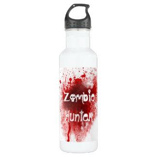 Zombie hunter By Rachel Water Bottle