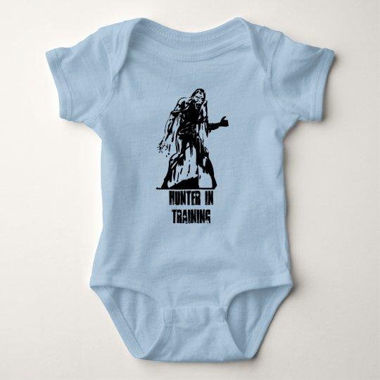 Zombie Hunter in Training Baby Shirt