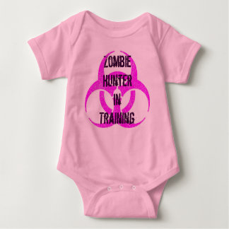 Zombie Hunter in Training creeper pink