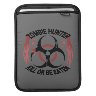 Zombie Hunter iPad Sleeve