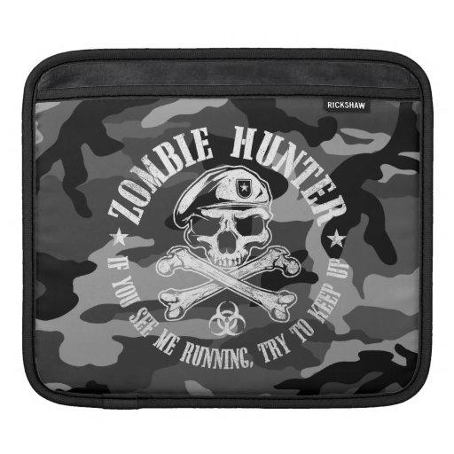 zombie hunter iPad sleeves