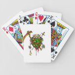 Zombie Hunter Logo Bicycle Playing Cards