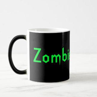 Zombie Hunter Magic Mug