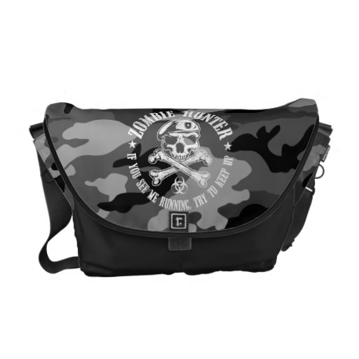 zombie hunter courier bags