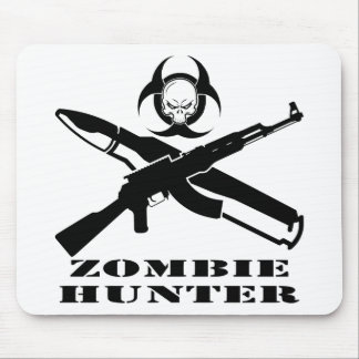 Zombie Hunter Mouse Pad